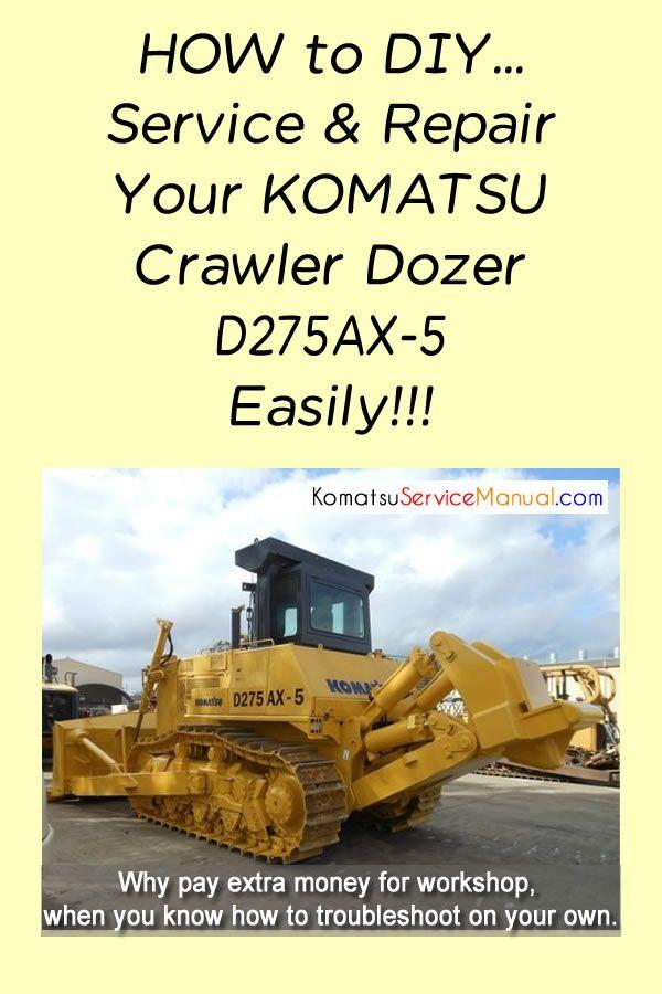 Pin On Komatsu Crawler Dozer Manual