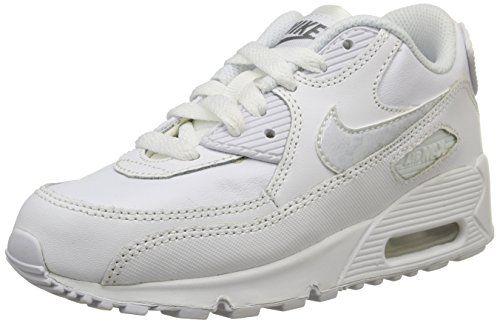 célula Mierda pala  Amazon.com: Nike AIR MAX 90 LTR (PS) mens running-shoes 724822-101: Shoes |  Nike air max, Air max 90 leather, Nike kids shoes