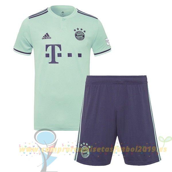 a655ead985700 Nueva Replicas Segunda Conjunto De Niños Bayern Múnich 2018 2019 Verde