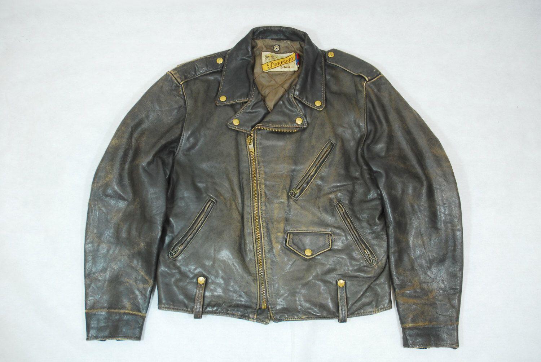 Vintage Schott Brown 115 Perfecto Leather Motorcycle Biker Jacket 44 Vintage Leather Jacket Jackets Leather Jacket [ 1004 x 1500 Pixel ]
