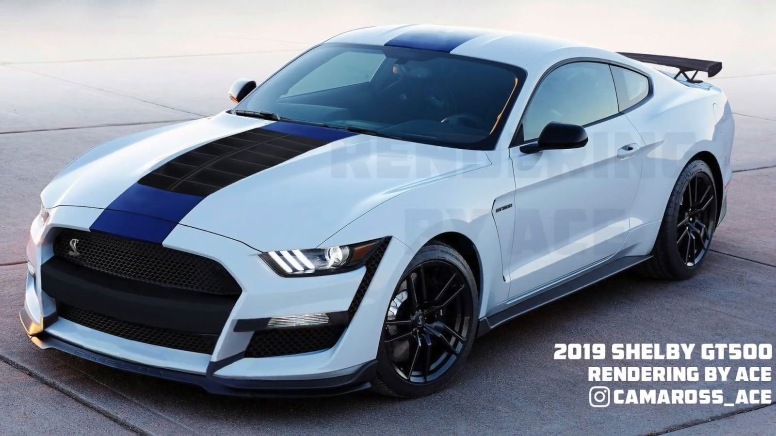 2019 Shelby Gt500 What We Know So Far Shelby Gt500 Ford