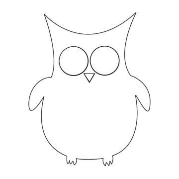 Owl  Template Image   Owl     Owl Templates And Owl