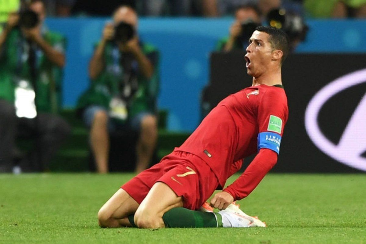 The Undisputed Top Boot At World Cup 2018 So Far Is Cristiano Ronaldo Ronaldo Free Kick