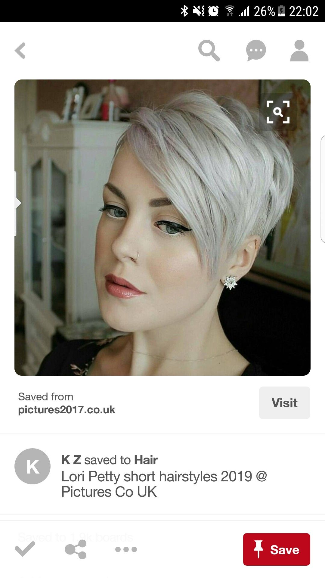 Pin by laura w on hair style color likes pinterest short pixie