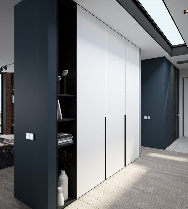 Design a chic modern space around a brick accent wall interior design ideas