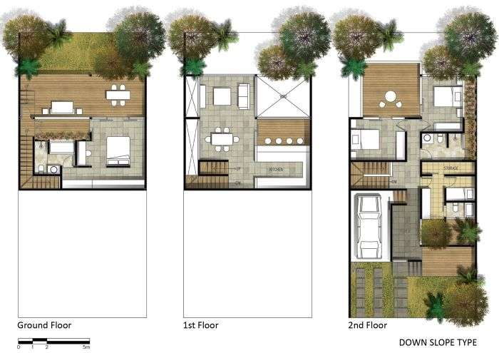 Projects By Fajar Aditya At Coroflot Com Architectural Floor Plans Luxury House Plans Home Design Plans