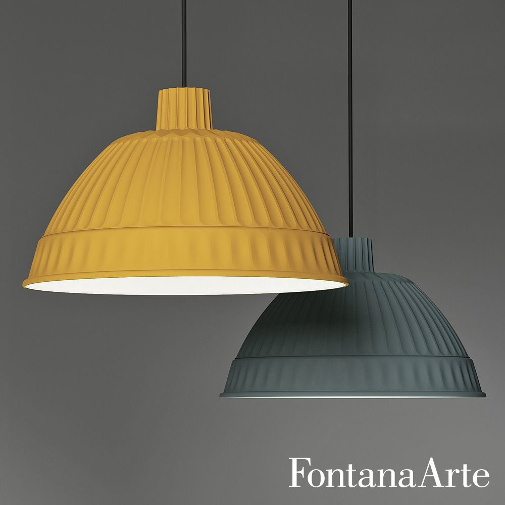 FontanaArte Cloche Suspension Lamp