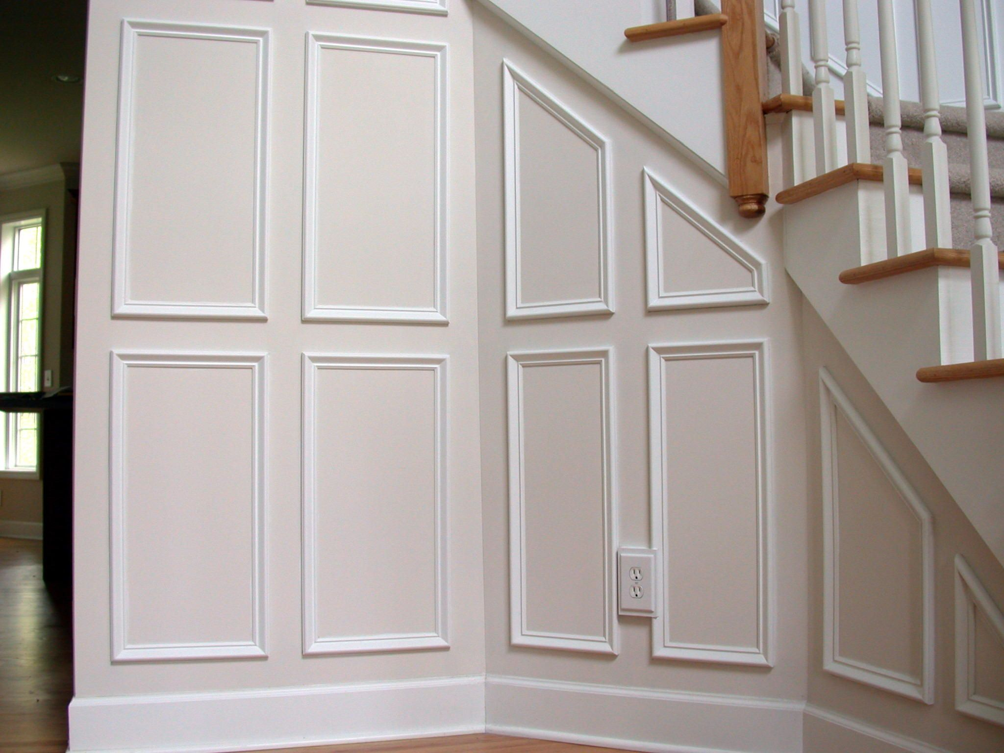 picture frame molding wall photo frames pictures design - Moulding Designs For Walls