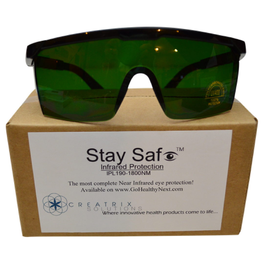 Near Infrared Sauna Eye Protection Glasses Infrared