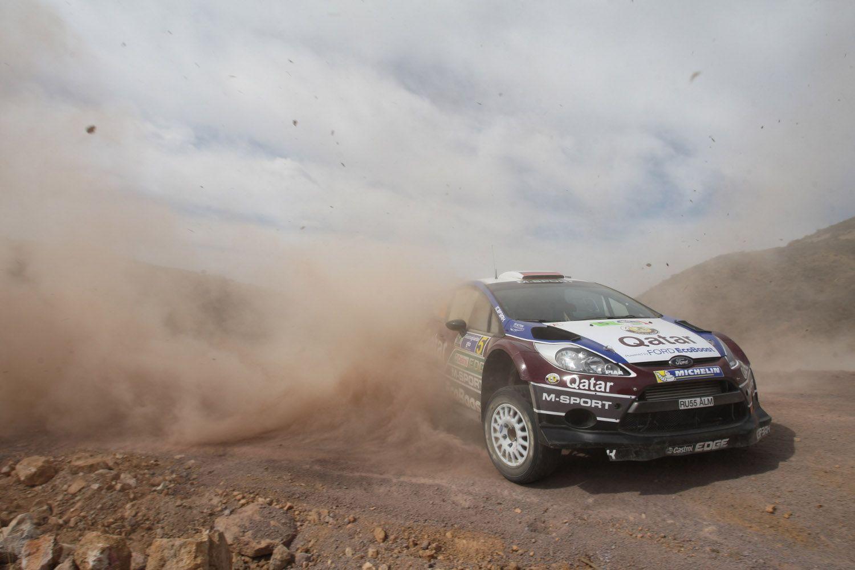 WRC Rally México Qatar MSport Ford Rally Team E
