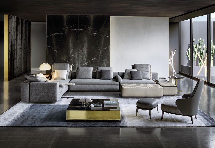 Minotti design per la casa i prodotti del catalogo for Cataloghi arredamento interni