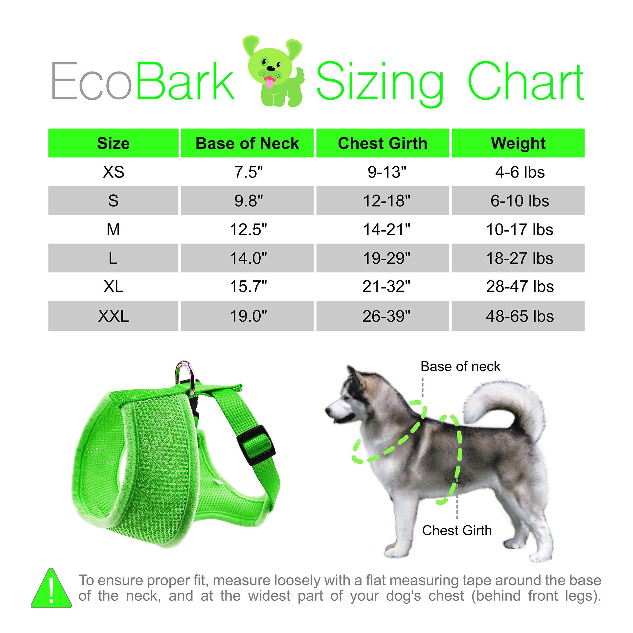 Ecobark Maximum Comfort Dog Harness 365 Lbs Innovative No Pull