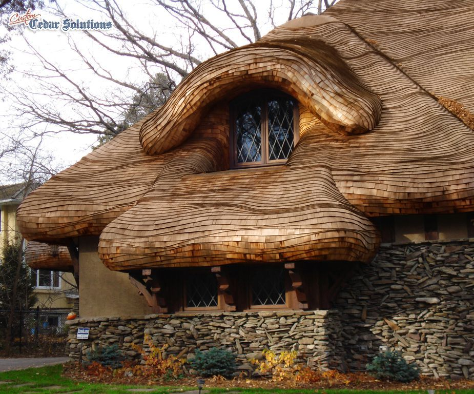 Pin By Gerri Glackin Lambert On Country Cottage Roofs Natural Homes Shingling Unusual Homes