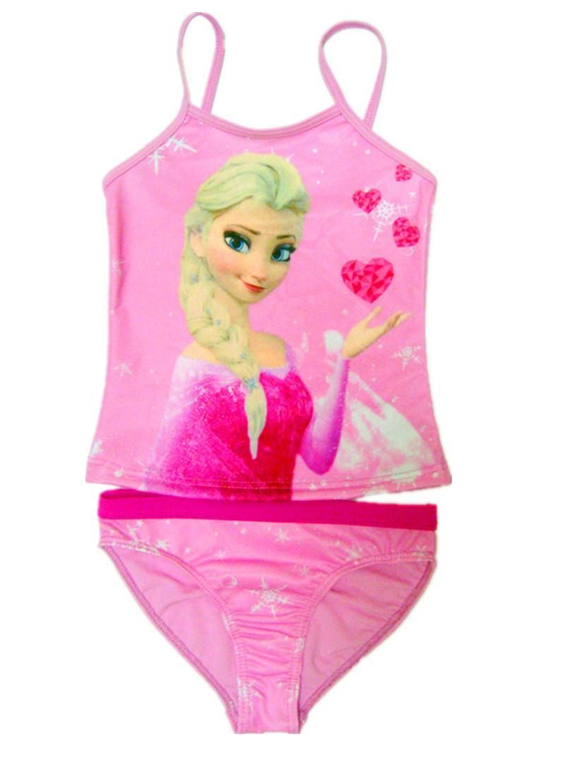 Girls Swimming Costume Swimsuit Tankini Unicorn Mermaid Candy Couture Age 4-16
