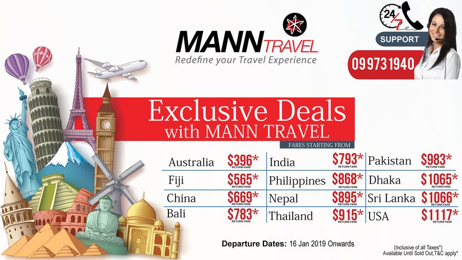 Get the Exclusive Deals from New Zealand with Mann Travel. Offer is  Available until Sold 636bc7fab9468
