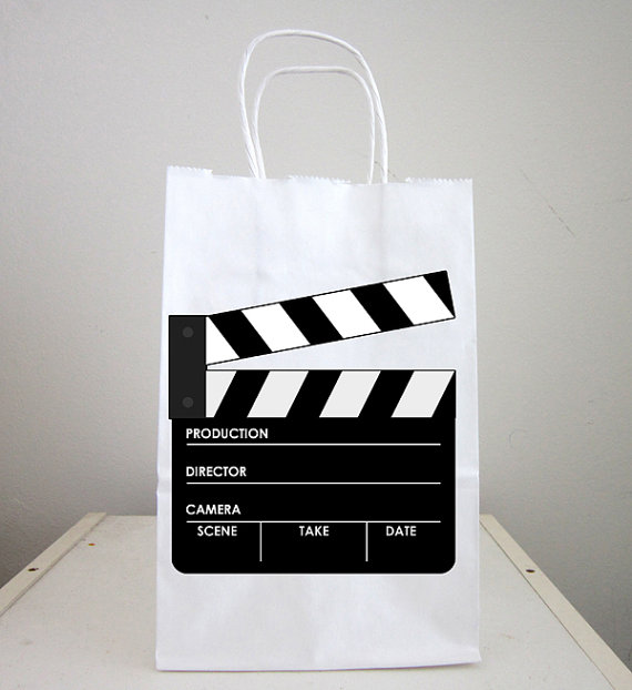 Movie Party Goody Bags Cler