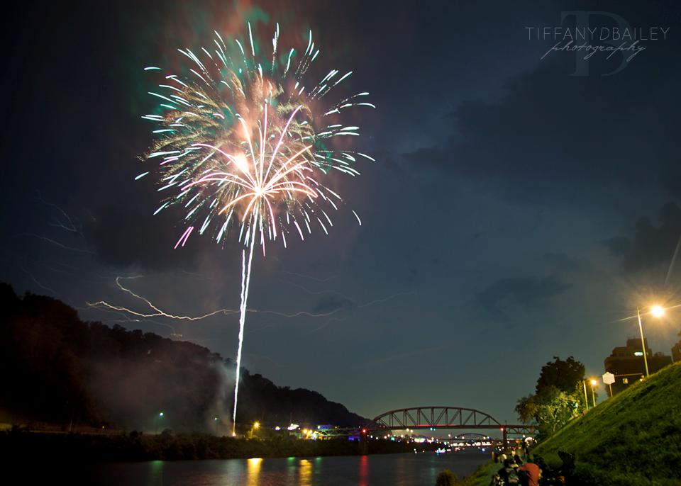 Fireworks lightning Charleston WV