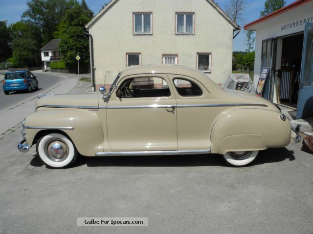 Plymouth P15 Business Coupe 1948 1948 Vintage Classic And