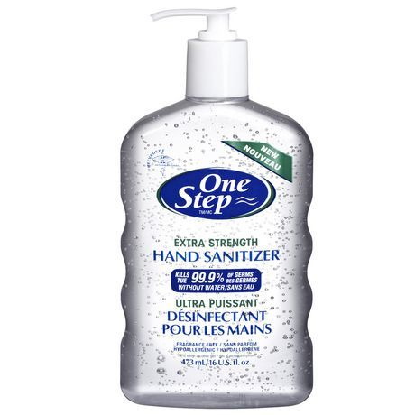 One Step Extra Strength Hand Sanitizer Hand Sanitizer Fragrance