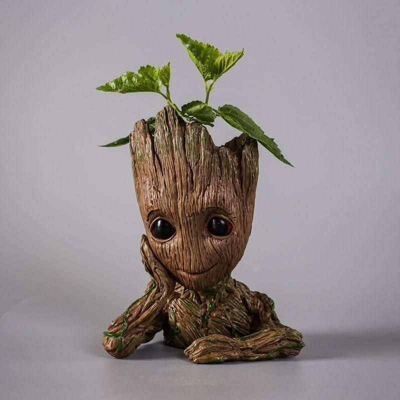 Flowerpot Action Figure Guardians Of The Galaxy Crafts