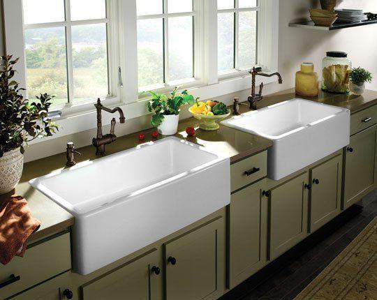 All About: Farmhouse Kitchen Sinks | Farmhouse kitchen sinks ...