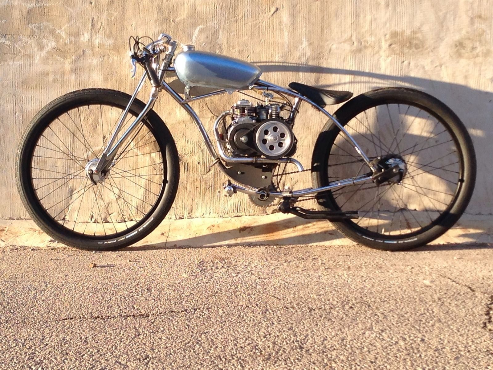 7d7073f27e4 Boardtrack Racer Inspired Motorized Bicycle | eBay | custom scooter ...