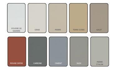 Nuancier peinture pour sol garage et terrasse expert v33 - Peinture pour mur de garage ...