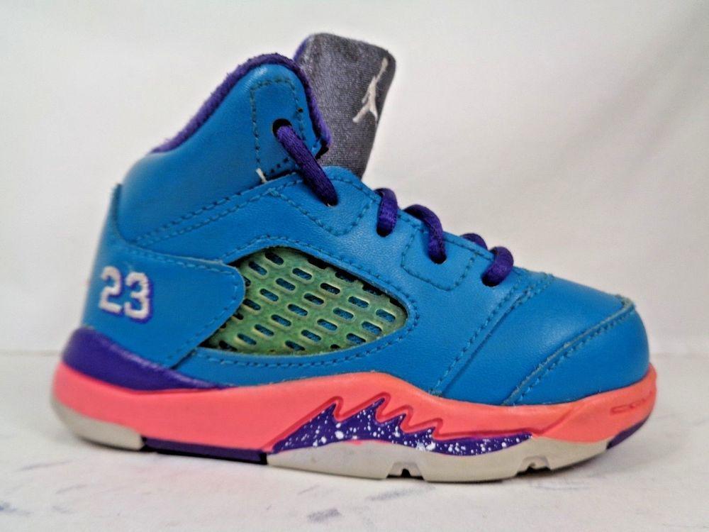 promo code e858c 71560 Nike Air Jordan 5 Retro Toddlers shoes size 5 C 440890-307 ...