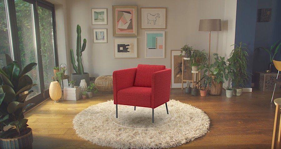Statt Millimeterpapier: IKEA Place U2013 Die Augmented Reality App Zum Virtuellen  Einrichten Neue