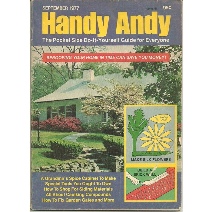 Handy andy do it yourself guide book magazine september 1977 tools handy andy do it yourself guide book magazine september 1977 tools reroofing solutioingenieria Image collections
