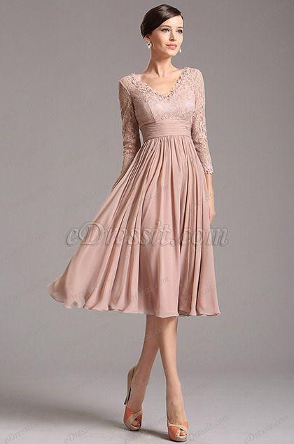 Teacup Length Prom Dresses