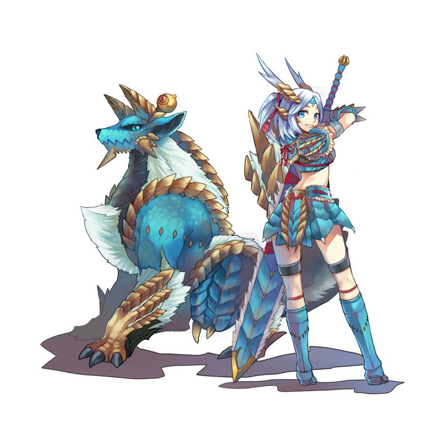 MONSTER HUNTER P3 by momori68.deviantart.com on @deviantART  One of my favourite armors in MH. :,)