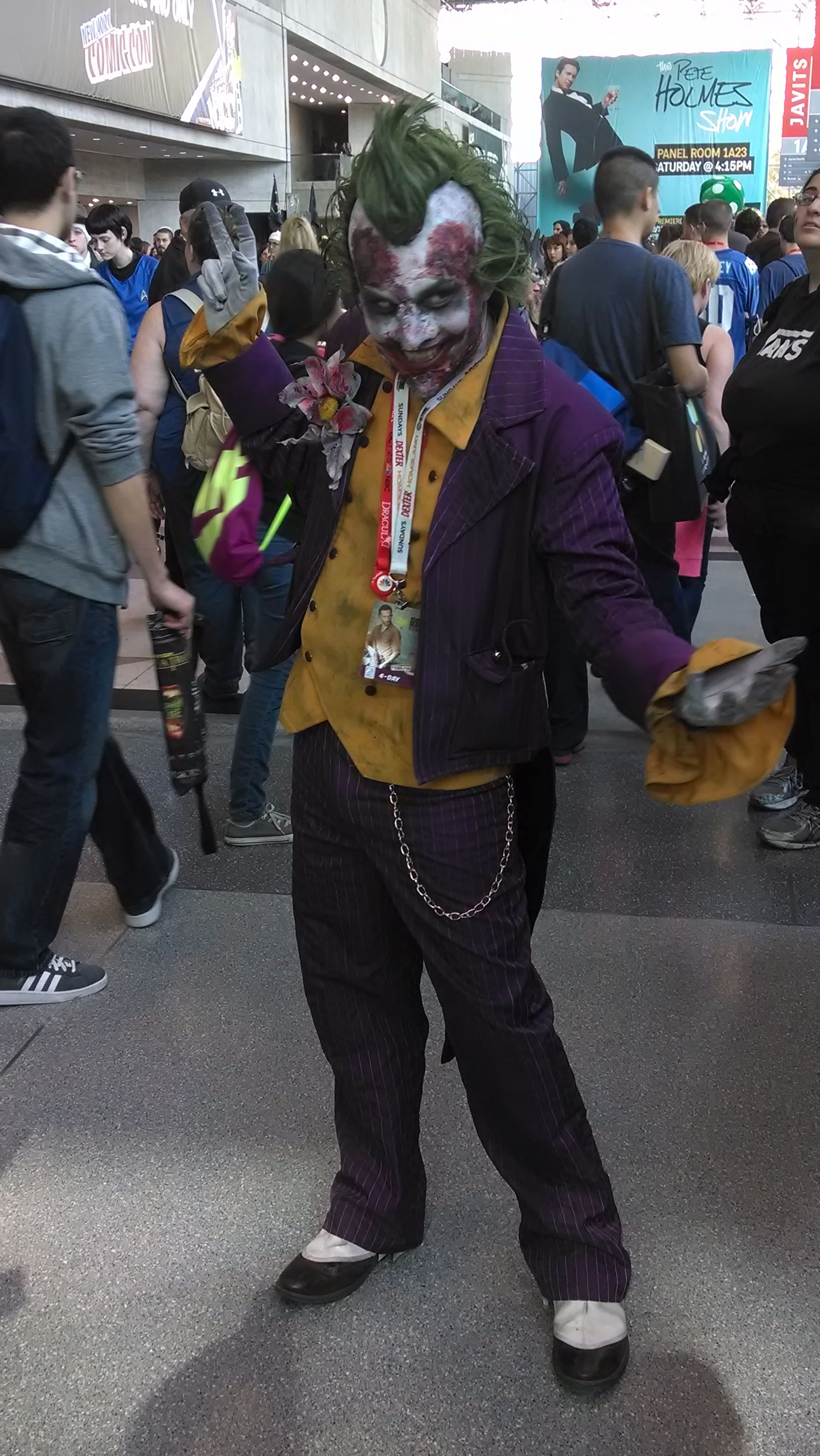 The Joker (from Arkham City) at #NYCC