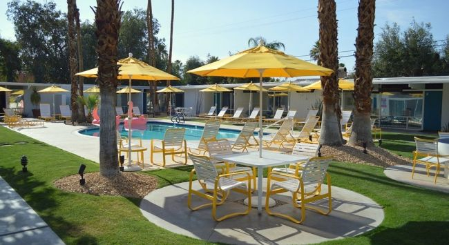 Hotel Gallery | Hotel, Palm springs, Outdoor furniture sets