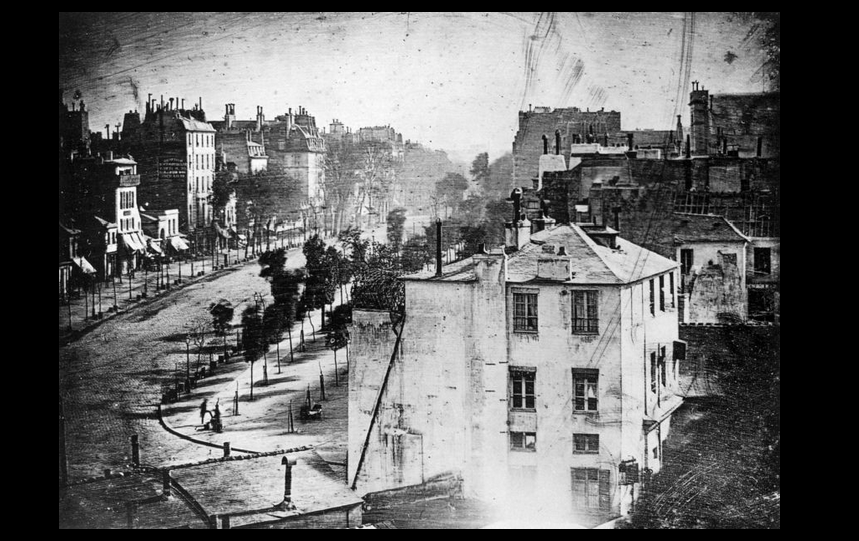 Paris in the 1830's (With images) | History of photography ... First Photograph 1830