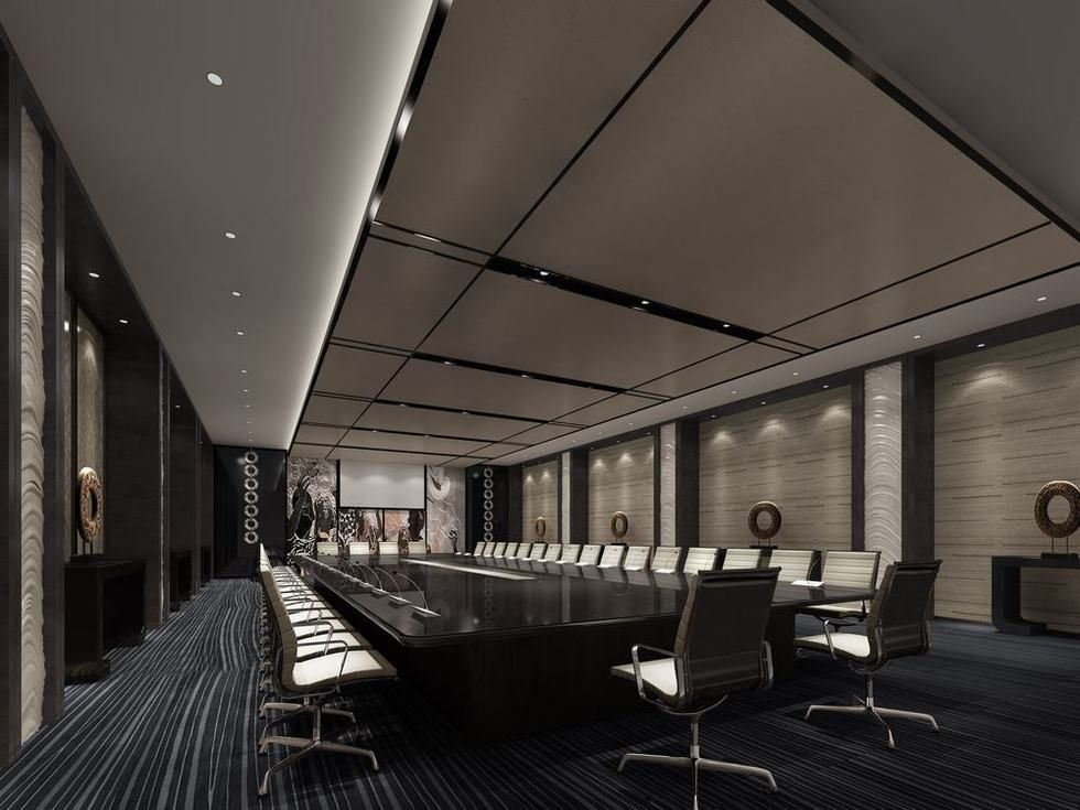 Solemn Conference Room 3d Design Hotel Pinterest