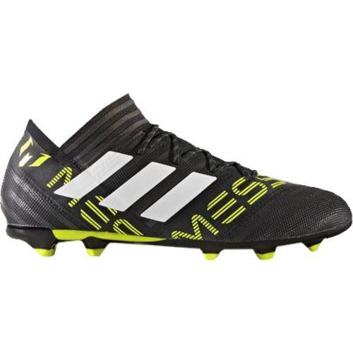 Adidas Men s Nemeziz Messi 17.2 Firm Ground Soccer Cleats (Black White 86db999cd243