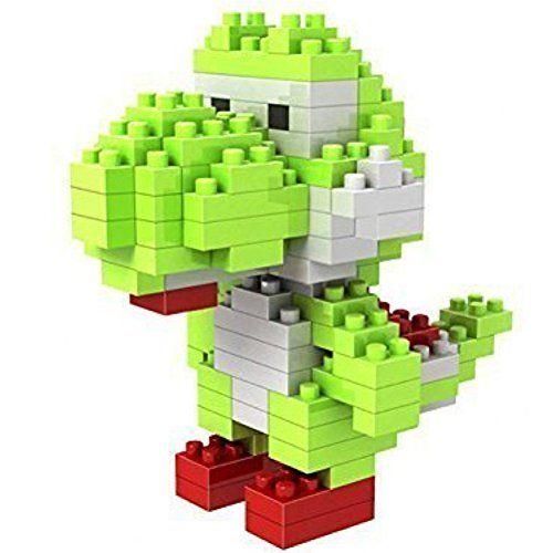 Katara Set Nanoblock Pour Construction De Yoshi De Super Mario