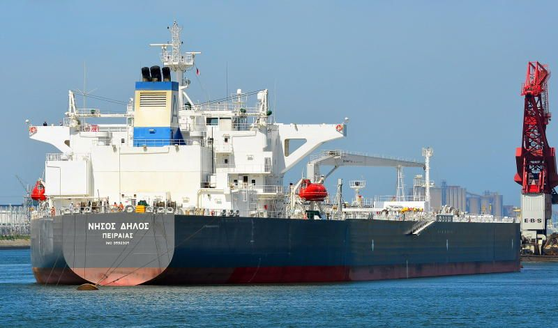 Crude Oil Tanker Built In 2012 By Samsung Shipbuilding Heavy