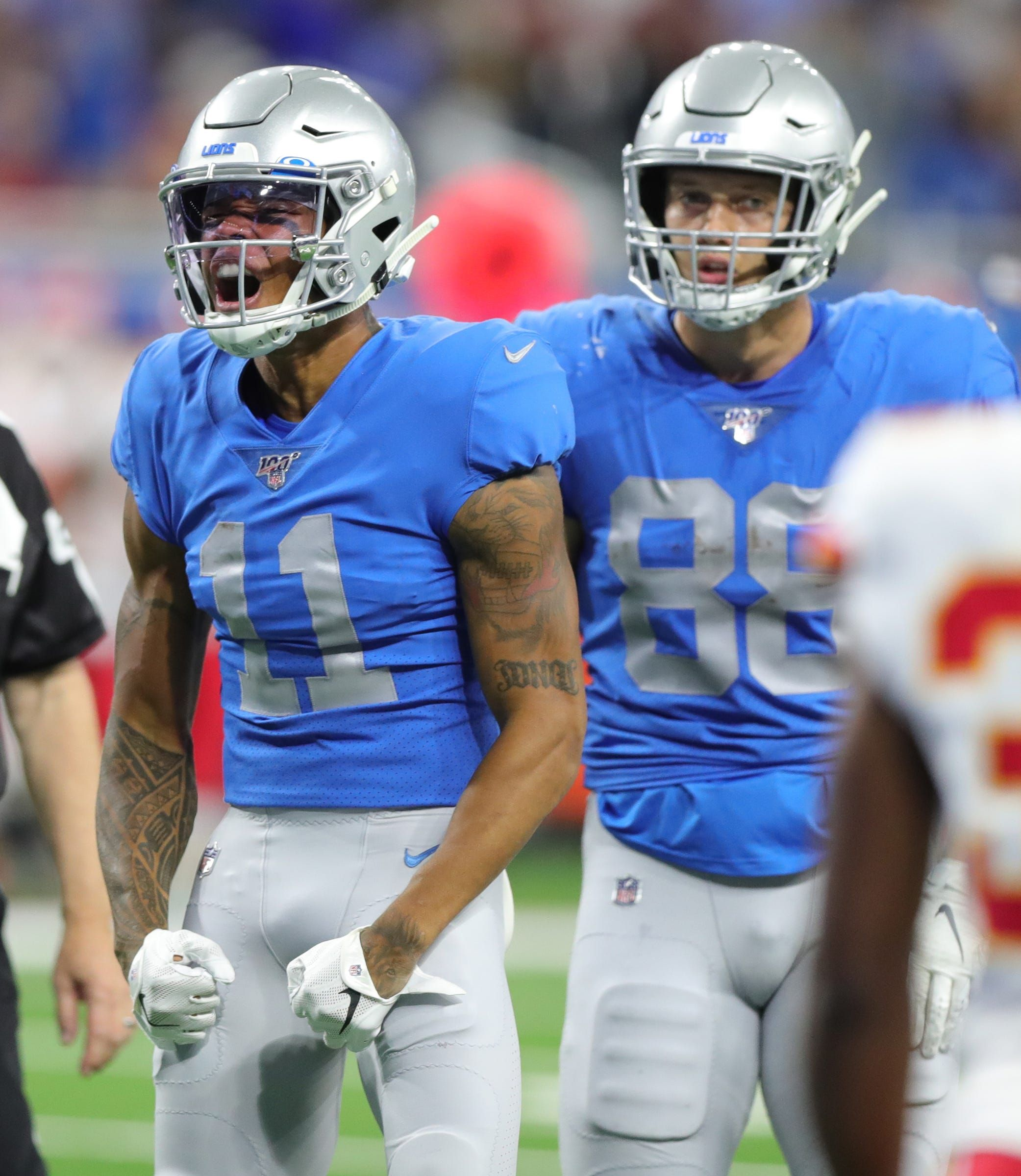 Detroit lions offense connecting on more big plays we