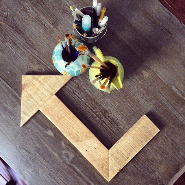 Wooden Arrow Decor