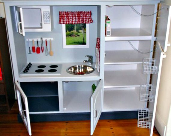 Diy Play Kitchen Set would love to make a play kitchen allmyself.maybe i'll do