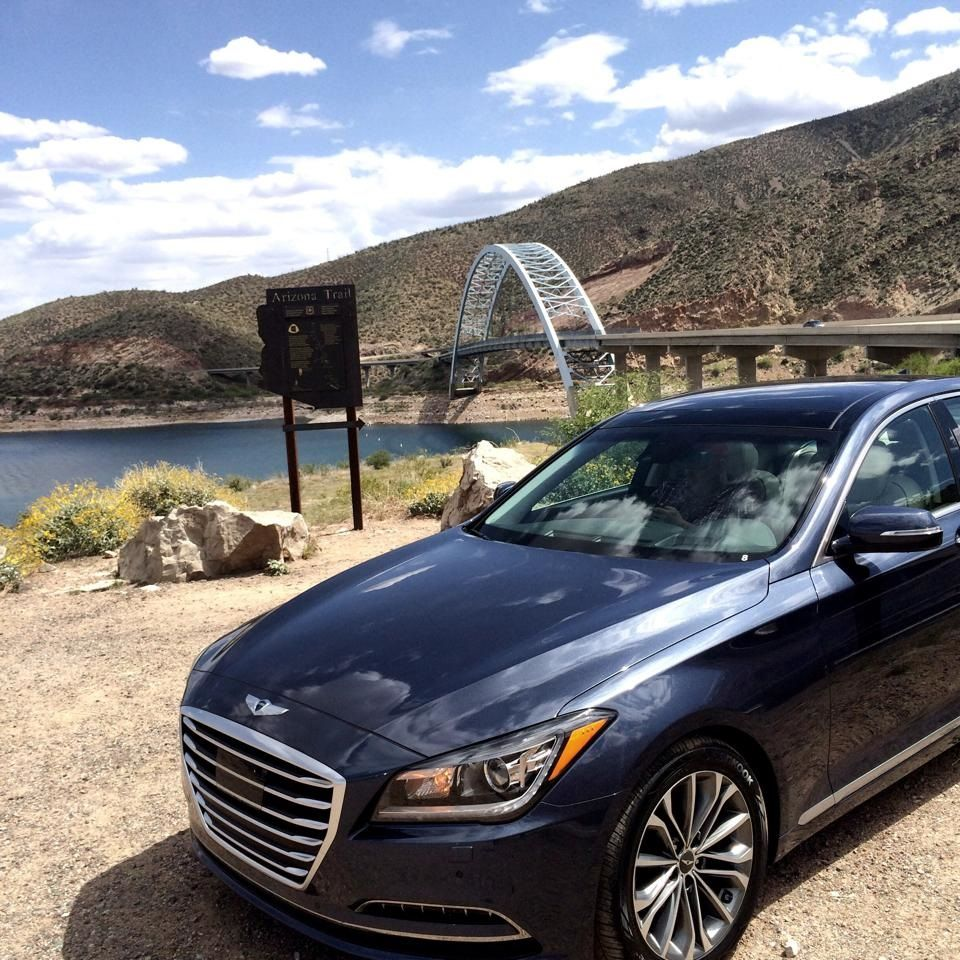 2015 Hyundai Genesis A Next Generation Vehicle (With