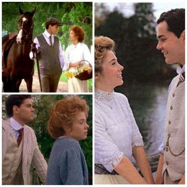 Movies Anne Of Green Gables Gilbert Blythe And Anne Shirley