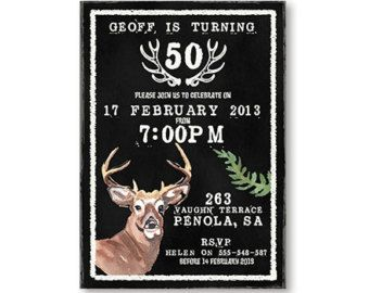 Mens invitation deer hunting birthday 30th by westminsterpaperco mens invitation deer hunting birthday 30th by westminsterpaperco filmwisefo Images