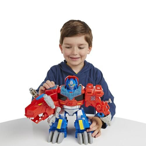 Transformers #playskool rescue bots optimus #prime dino #action figure, View more on the LINK: http://www.zeppy.io/product/gb/2/381825249041/