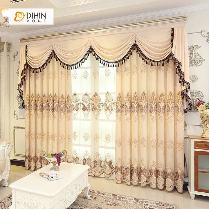 22+ Living room curtain and valance sets info