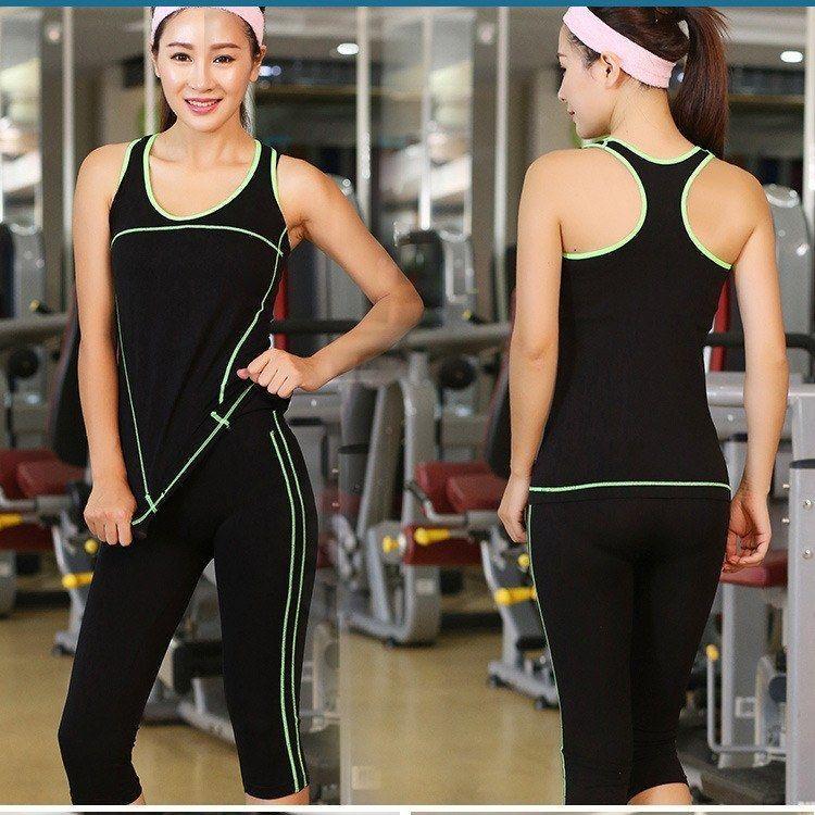 Women's Sport Yoga Pants & Top Set