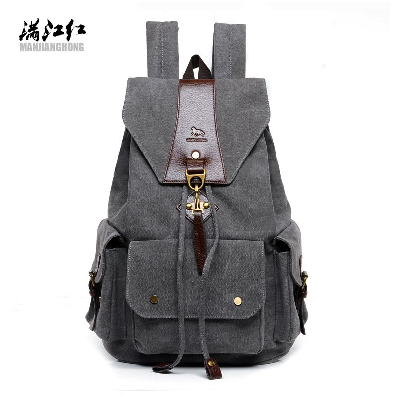 d97f643ce9 High quality custom canvas backpack china manufacturer