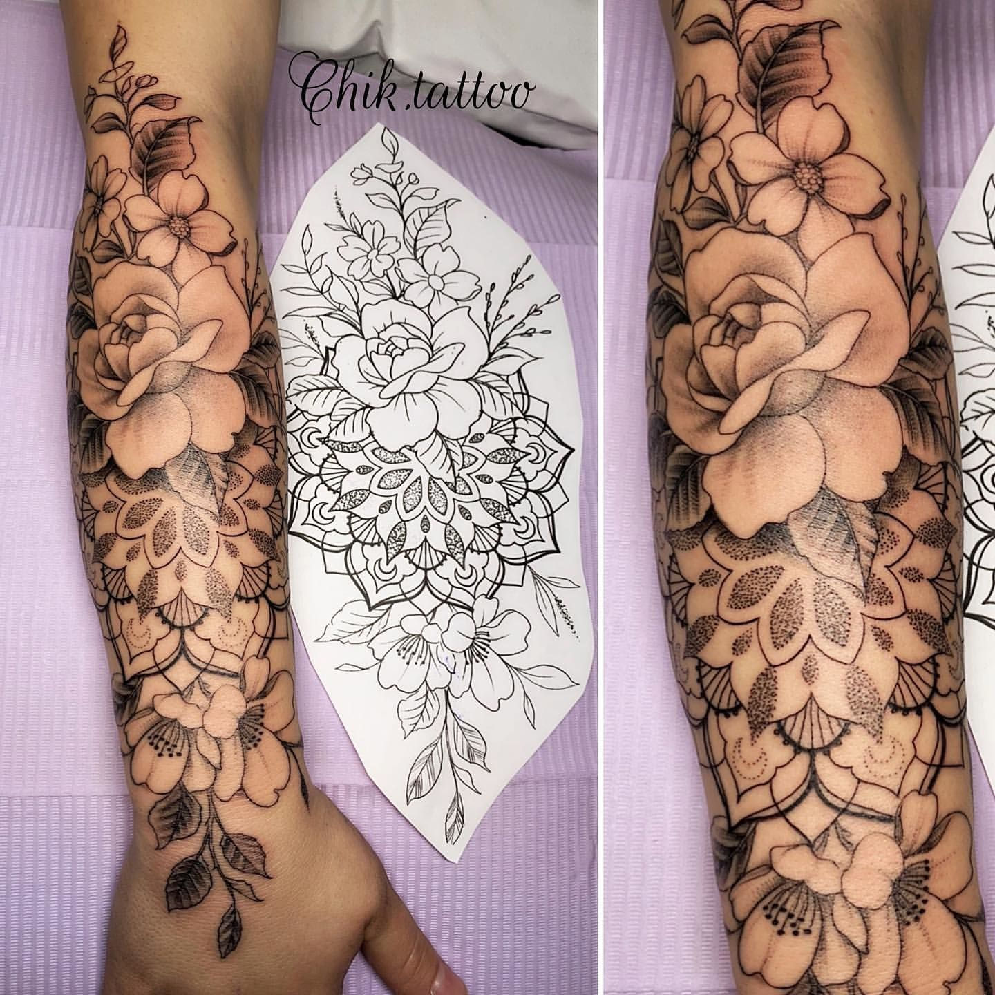 100 The Most Beautiful Flower Tattoo Designs Small Forearm Tattoos Flower Leg Tattoos Tattoos